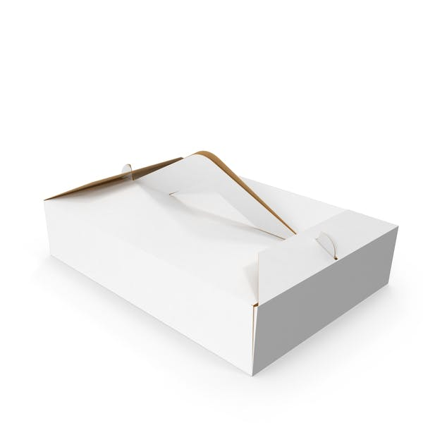 Pastry Box Closed