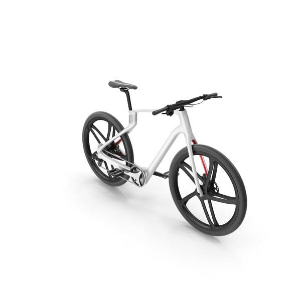 Carbon Electric Road Bike White