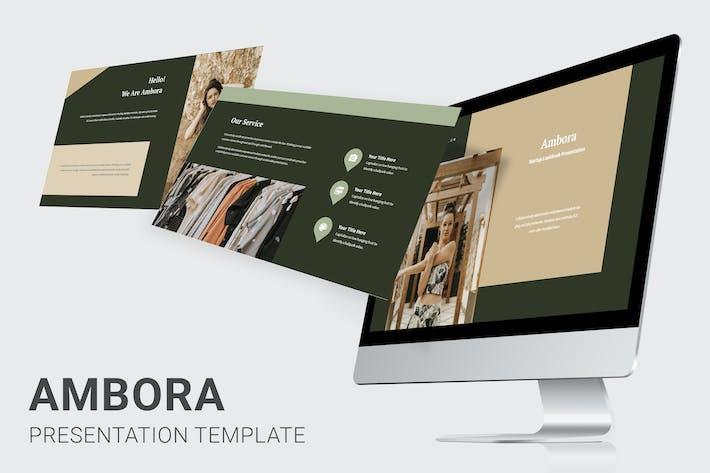 Thumbnail for Ambora - Summer Fashion Keynote