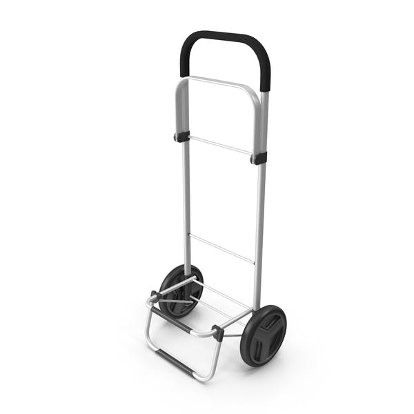 Thumbnail for Two Wheel Compact Luggage Cart