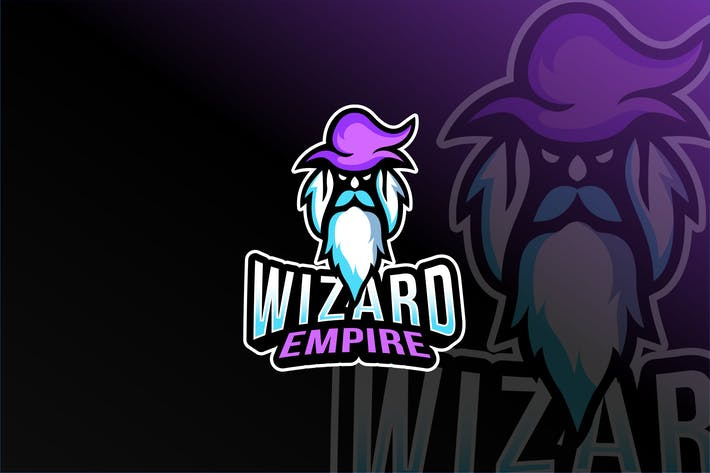 Thumbnail for Wizard Empire Esport Logo Template