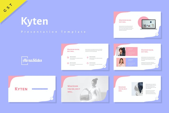 Thumbnail for Kyten - Fashion Google Slides Template