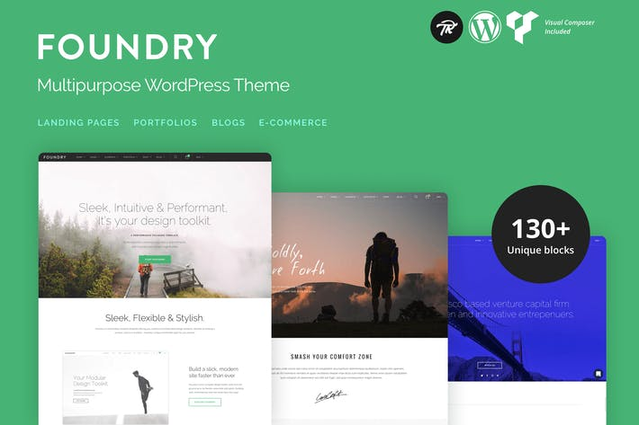 Thumbnail for Foundry - Multipurpose, Multi-Concept WP Thema