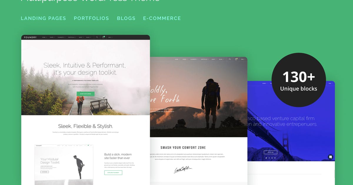 Foundry - Multipurpose, Multi-Concept WP Theme by tommusrhodus
