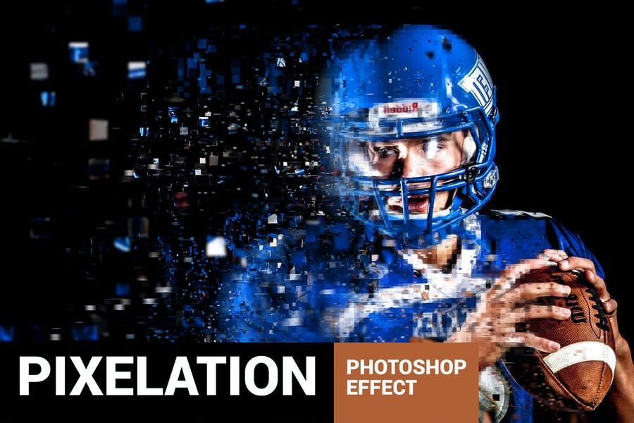 Pixelum - Digital Pixelation Photoshop Action