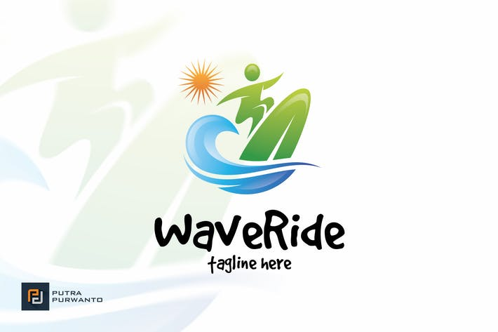 Thumbnail for Wave Ride - Logo Template
