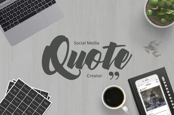 Thumbnail for Social Media Quote Creator