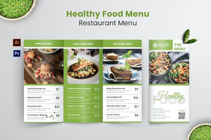 Thumbnail for Healthy Resto Food Menu
