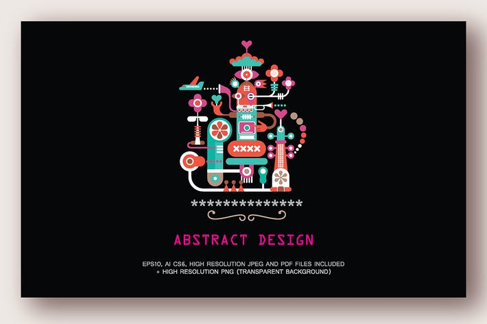 Thumbnail for Abstract Art vector illustration