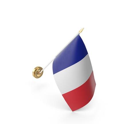 Mauerflagge Frankreich