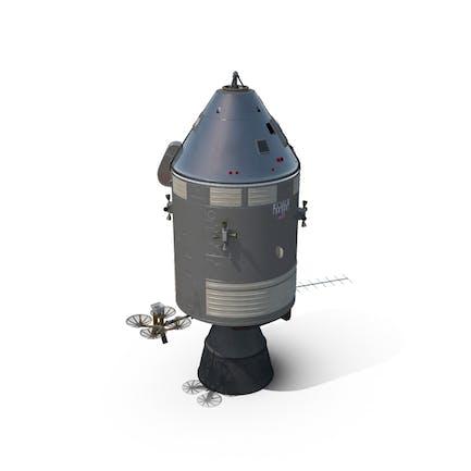 Apollo Command Service Module Spacecraft