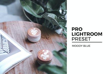 пресет Moody Blue Lightroom