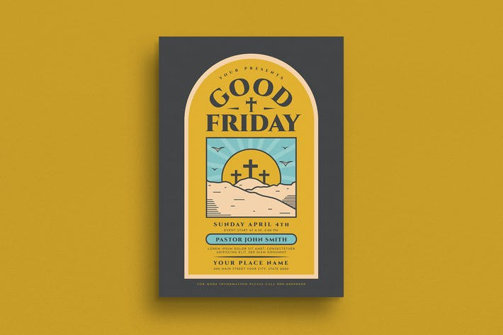 Thumbnail for Good Friday Church Flyer