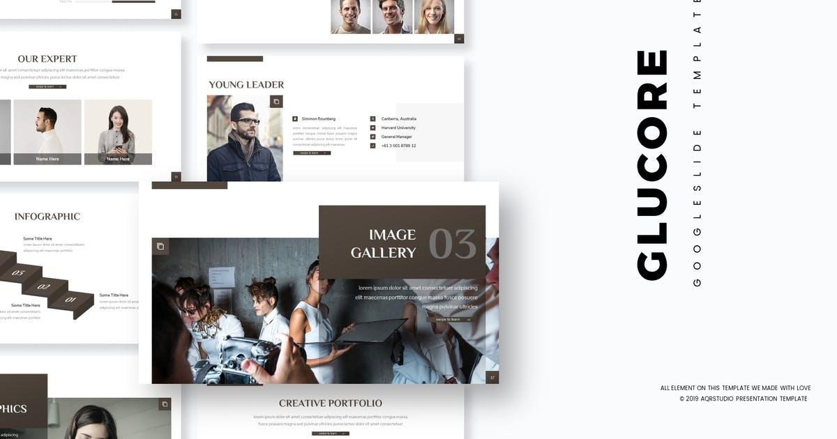Download Glucore - Google Slide Template by aqrstudio