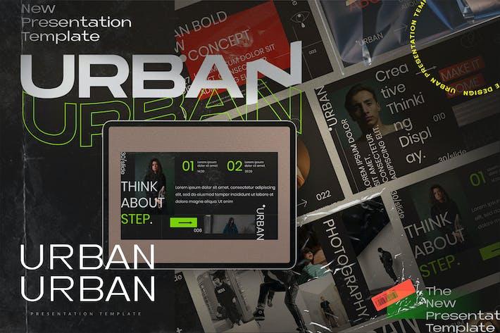 Thumbnail for Urban - Creative Business Keynote