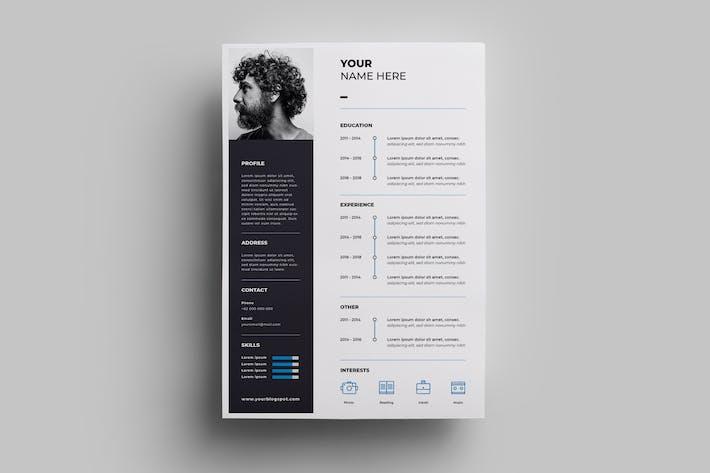 Thumbnail for Resume Design Templates.01