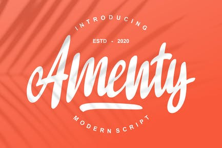 Amenty Script Moderno
