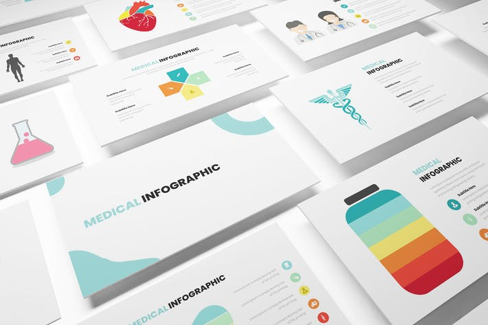 Thumbnail for Medical Infographic Powerpoint Template