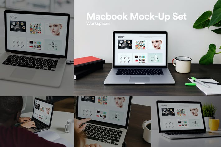 Thumbnail for Psd Laptop Macbook Pro Mock-Up