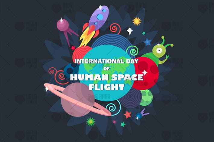 Thumbnail for Internationaler Tag des Human Space Flight