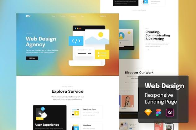 Web Design Responsive Landing Page
