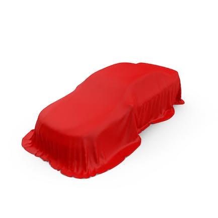 Rote Autoabdeckung