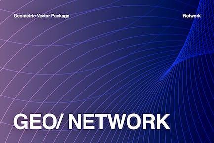 Netzwerkgeometrische Sammlung