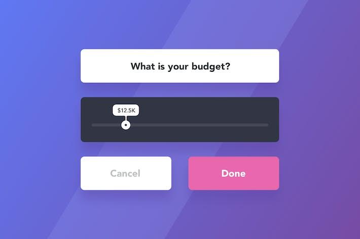 Thumbnail for Slider Web/Mobile Widget
