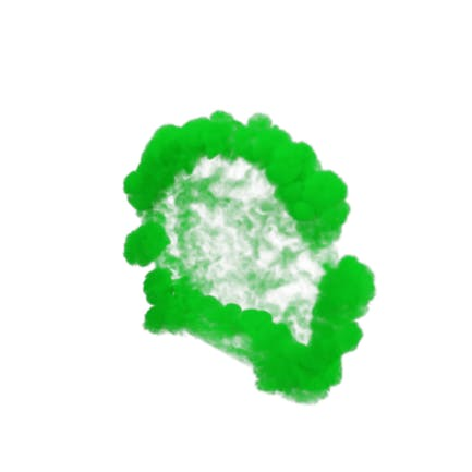 Green Smoke Blast