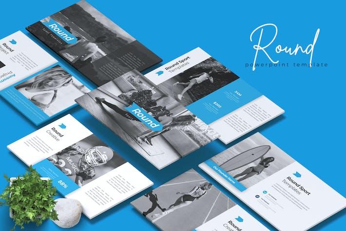 ROUND - Sport Powerpoint Template