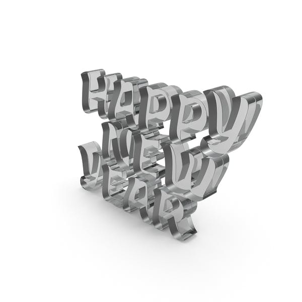 Thumbnail for Happy New Year Glass