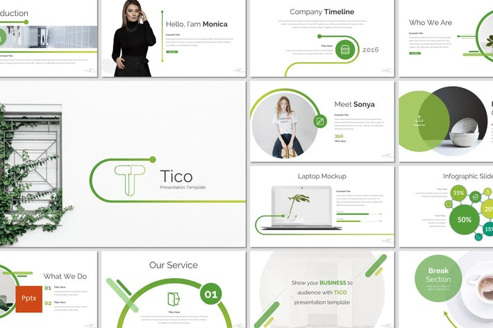 Cover Image For Tico - Powerpoint Template
