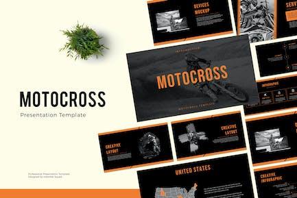 MOTOCROSS - Powerpoint Template