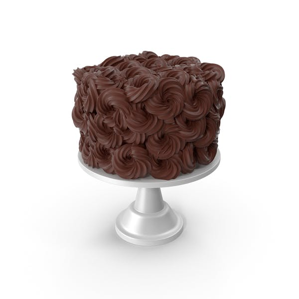 Thumbnail for Chocolate Flower Cake