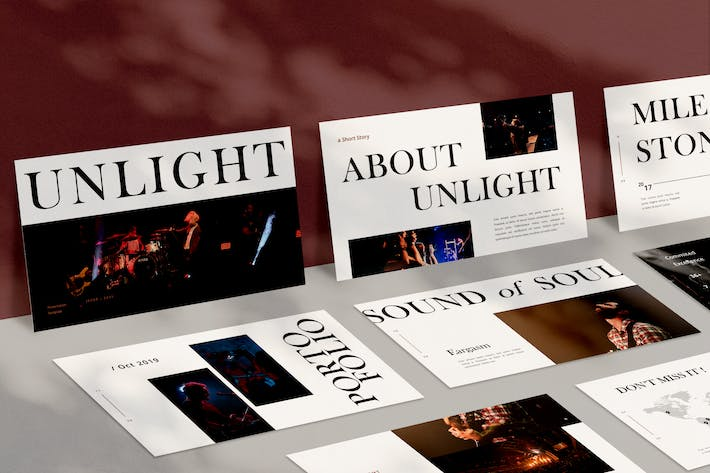 Cover Image For Unlight Powerpoint