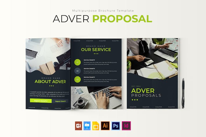 Thumbnail for Adver | Proposal Template
