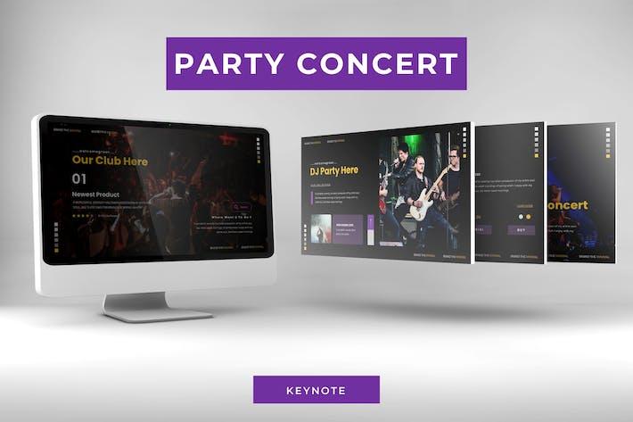 Праздничный концерт - Шаблон Keynote