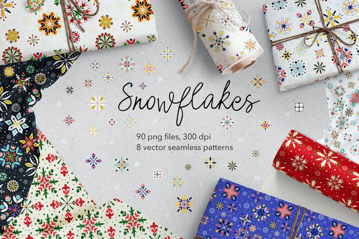 Cover Image For Snowflakes
