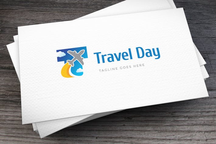 Thumbnail for Travel Day Letter T Logo Template