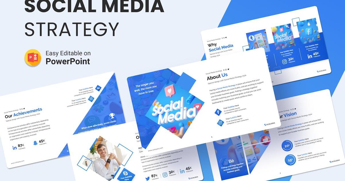 Download Socialedia – Social Media Strategy Presentation by Premast