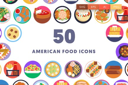 50 American Food Icons