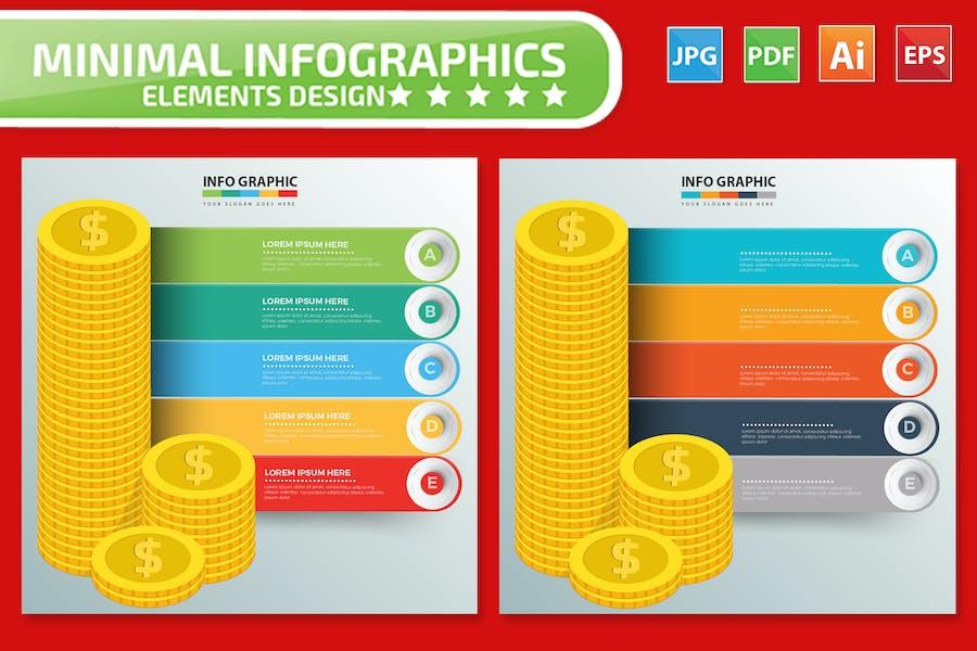 Money Infographics design