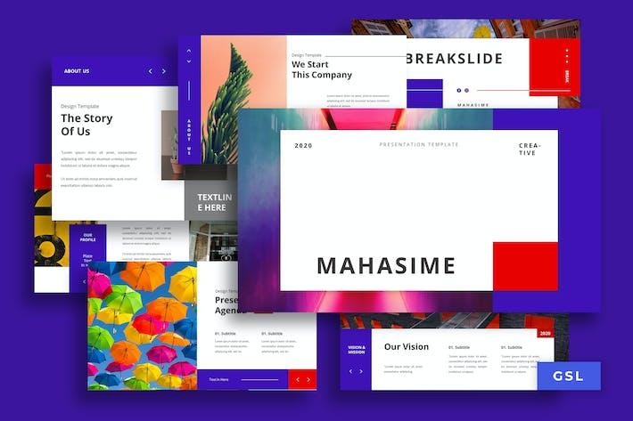 Thumbnail for Mahasime - Presentation Googleslides