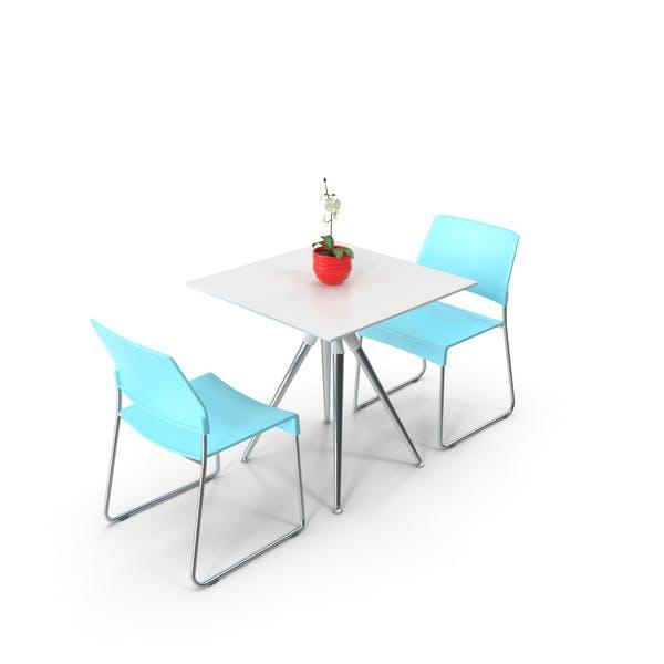 Thumbnail for Cafeteria Tisch und Stühle