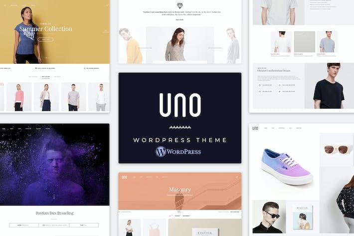 Thumbnail for UNO | Multi Store Responsive WordPress Theme