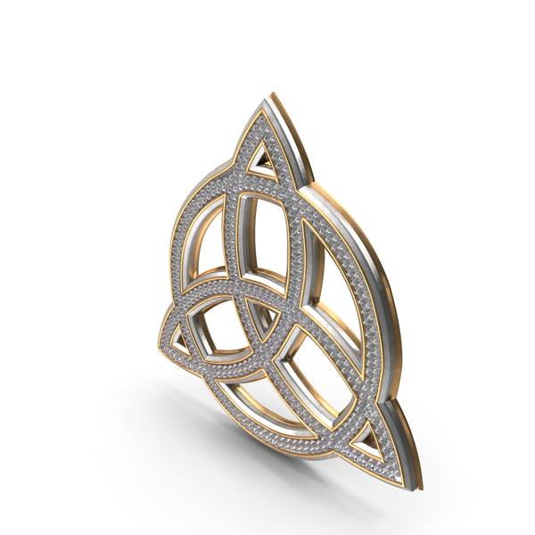 Знак языческой бесконечности Bling Diamonds