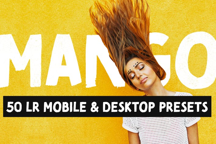 Thumbnail for Mango - 50 Bright Lightroom Presets