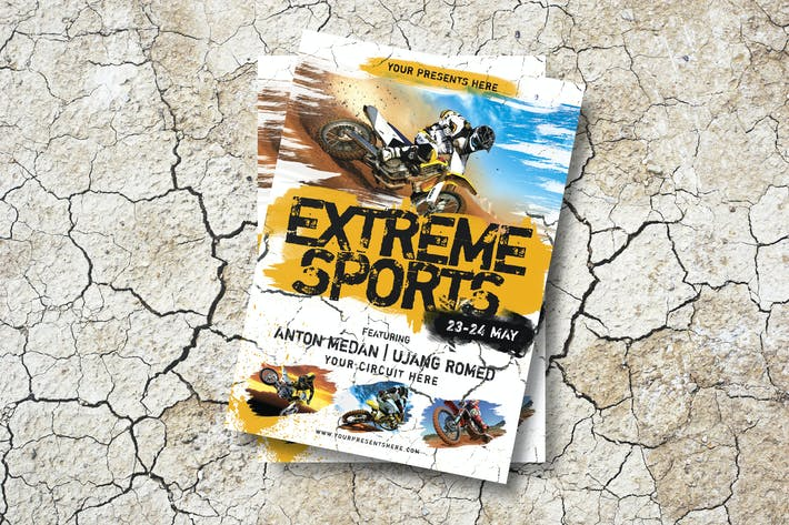 Thumbnail for Extreme Sports Flyer
