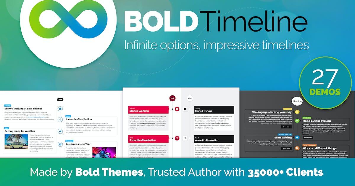 Download Bold Timeline Plugin for WordPress by BoldThemes