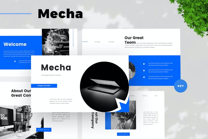 Creative Technology Keynote Template